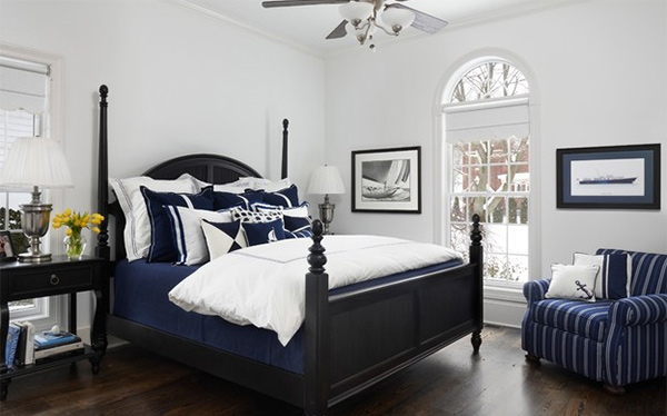 nautical navy sail on with 15 nautical themed bedrooms home design lover