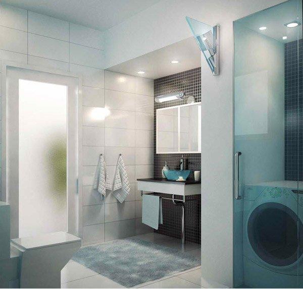 Modern Apartment Master Bath