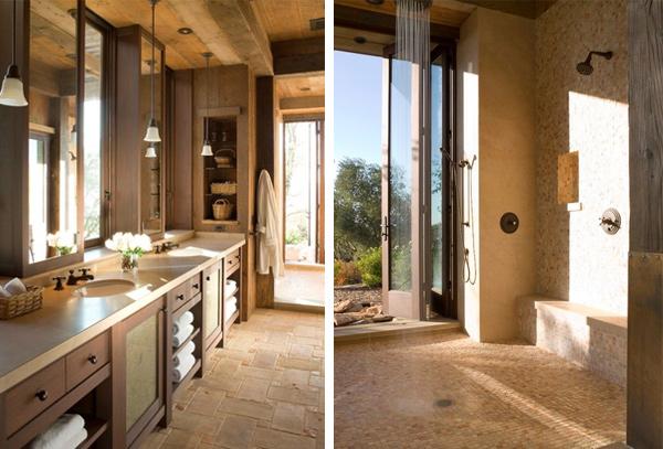 Rustic elegance home design