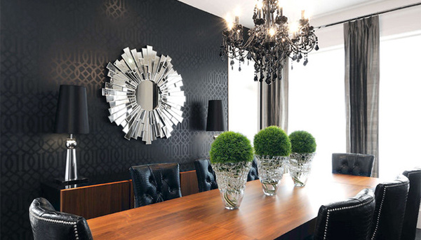 15 Black Contemporary Dining Room Ideas Home Design Lover