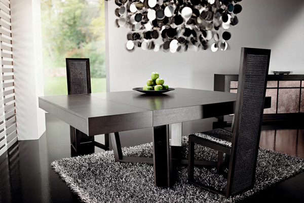 15 Charming Square Dining Room Tables | Home Design Lover