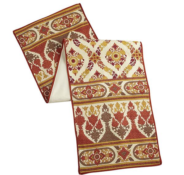 Devi Mosaic Print Table Runner