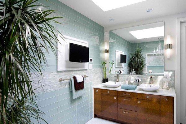 Fantastic 15 Turquoise Interior Bathroom Design Ideas Home Design Lover Inspirational Interior Design Netriciaus