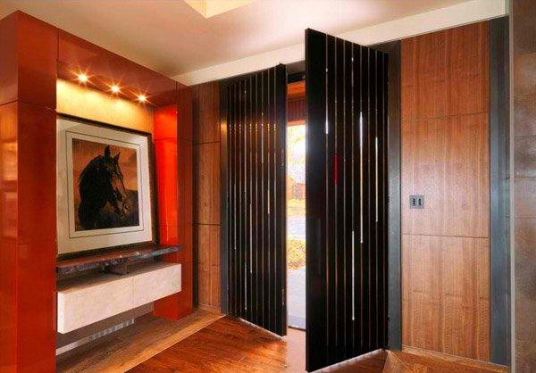 translucent slots  Birdseye Design. 15 Different Interior Double Door Design Idea   Home Design Lover