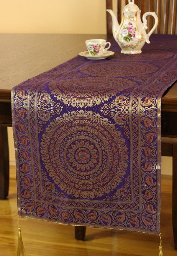 Exotic Oriental Table Runner