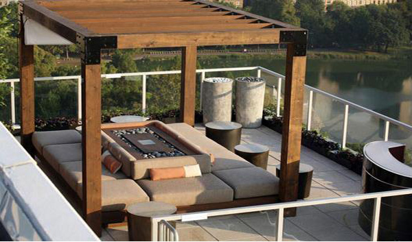 15 beautiful outdoor living room designs | home design lover