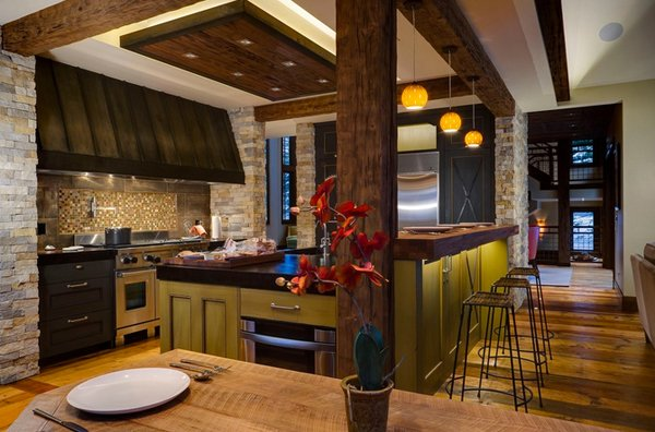 15 Pretty Kitchen Ceiling Lighting | Home Design Lover