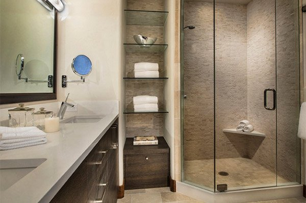 15 Bathroom Shelving Design Ideas – Bathroom Shelves Ideas