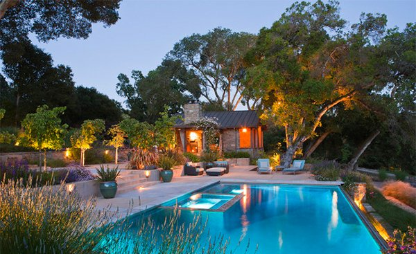 Pool Outdoor landscape