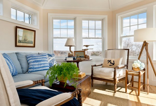 Terrific 15 Awesome Beachy Living Rooms Home Design Lover Largest Home Design Picture Inspirations Pitcheantrous