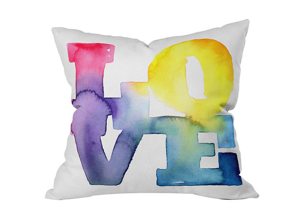 CMYKaren Pillow Love