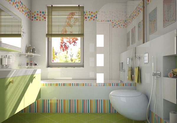 WC Detskiy. 18 Colorful and Whimsical Kid s Bathroom   Home Design Lover