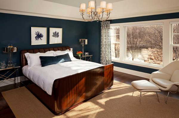 Browndale Avenue. 15 Beautiful Brown and Blue Bedroom Ideas   Home Design Lover