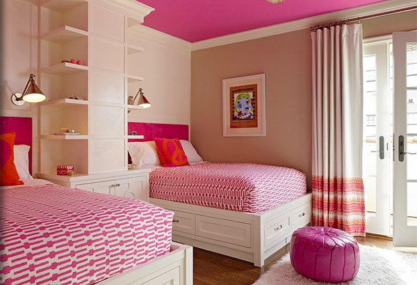 Identical Twin Bedroom