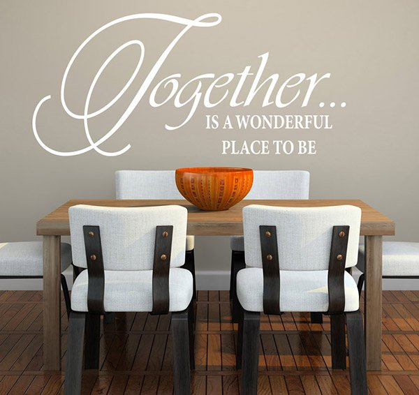 15 Awesome Dining Room Wall Decals | Home Design Lover
