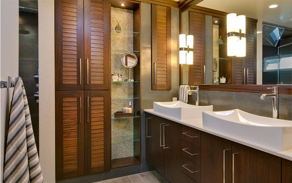 Willow Glen Shelves Bathroom