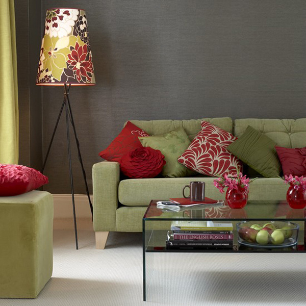red furnitures