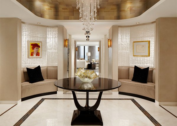 mother of pearl foyer design ideas - Foyer Tile Design Ideas