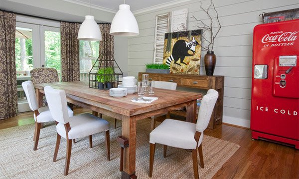 Simple and Stunning 15 Farmhouse Dining Room Designs Home