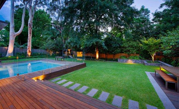 Turramurra Glass Pool Fence