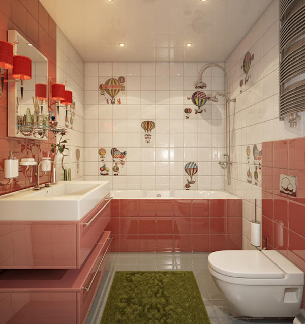 Bathroom for kiddo