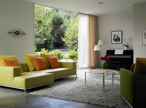 sleek furniture