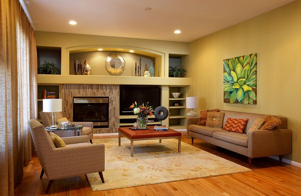 15 Fab Mid-Century Modern Living Rooms | Home Design Lover