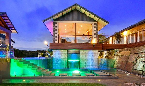 Draper pool glass idea