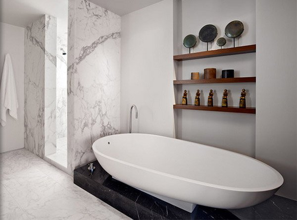 15 Bathroom Shelving Design IdeasHome Design Lover