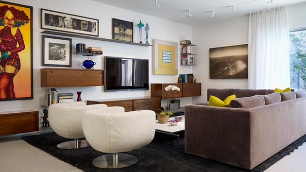 15 Modern Day Living Room TV IdeasHome Design Lover