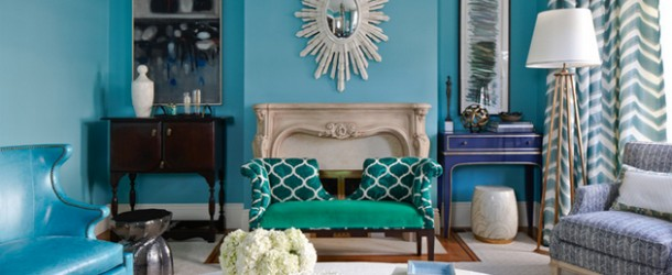 turquoise living