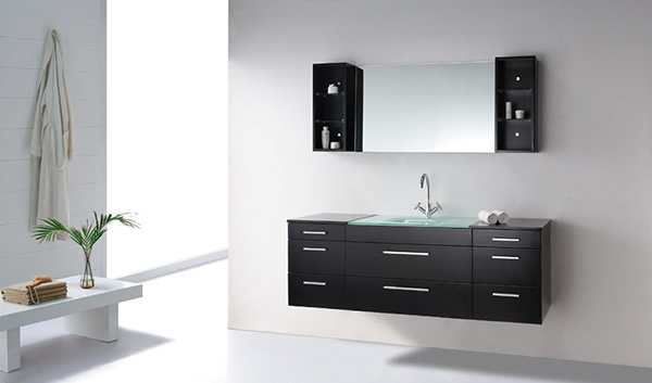63 Inch Single Sink Bathroom Vanity Set