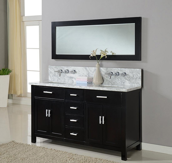 63 Inch Hutton Double Bathroom Vanity