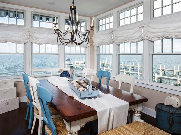 15 Beach Themed Dining Room Ideas   Home Design Lover