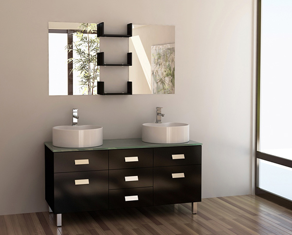 Wellington Double Sink Vanity Set