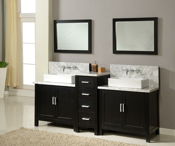 J & J International Double Sink Vanities