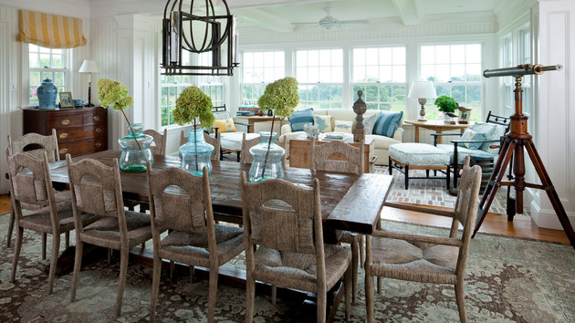 beach dining room sets