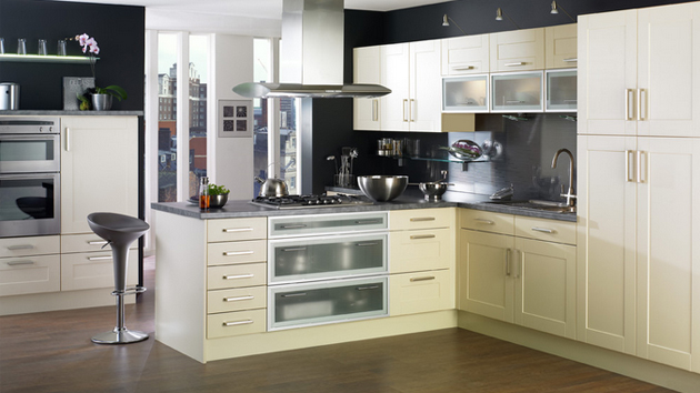 15 dainty cream kitchen cabinets   home design lover