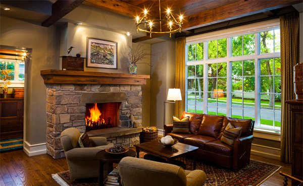 15 Warm Craftsman Living Room DesignsHome Design Lover