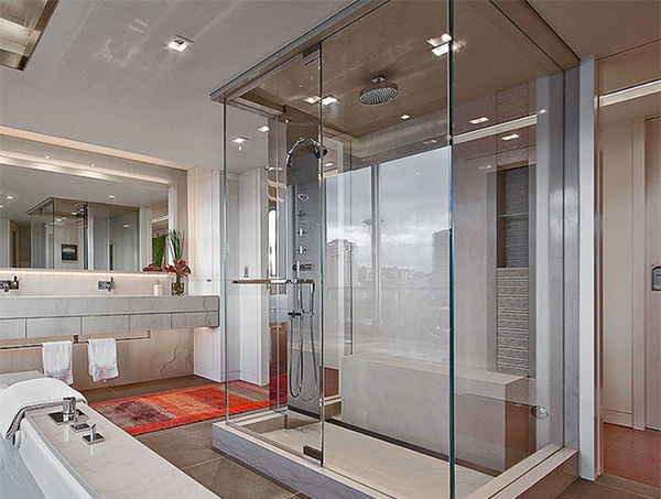 Master Glass Bathroom