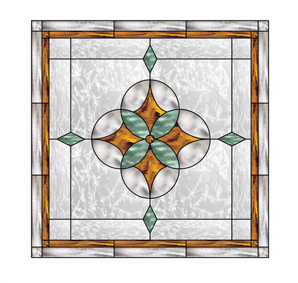 glass stain stained geometric
