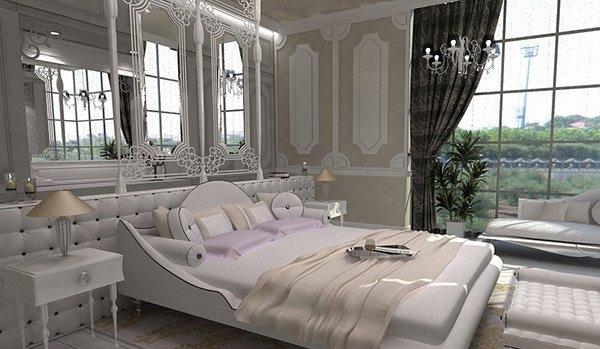 Main Bedroom Solar. 15 Modern Vintage Glamorous Bedrooms   Home Design Lover