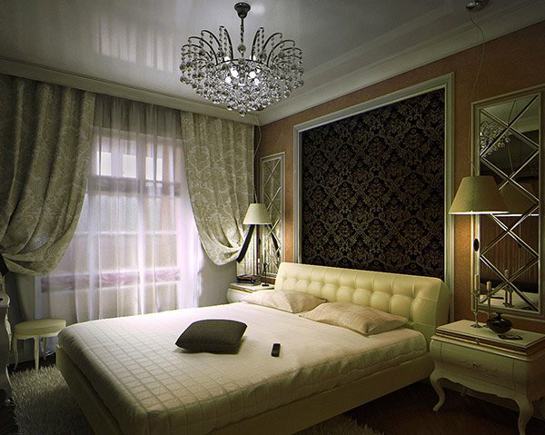 Bedroom Interior Double. 15 Modern Vintage Glamorous Bedrooms   Home Design Lover