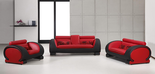 Phenomenal 15 Bold And Red Sofa Designs Home Design Lover Largest Home Design Picture Inspirations Pitcheantrous