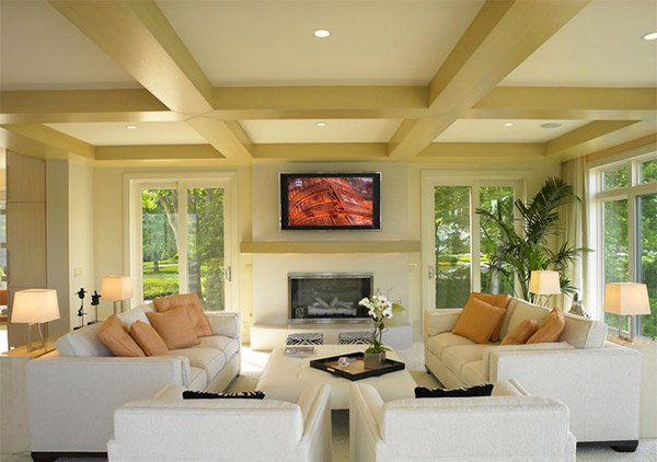 coffered ceilings designs