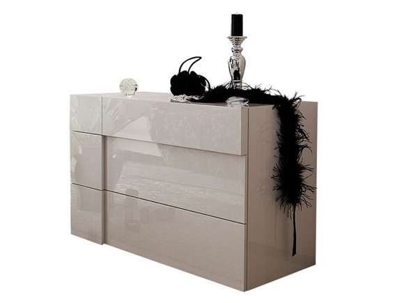 gloss lacquer finish. 15 Clean lined Modern Bedroom Dressers   Home Design Lover