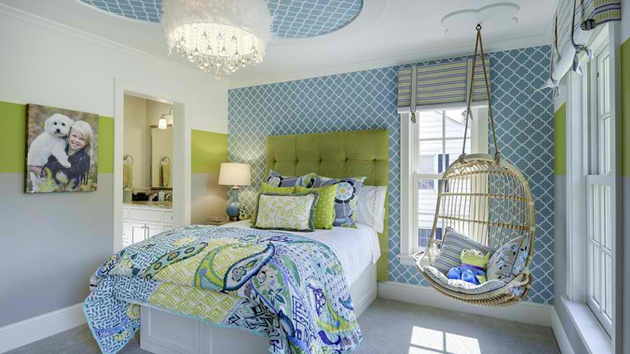 . 15 Stunning Bedrooms with Swing Chairs   Home Design Lover