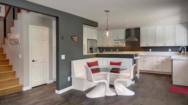 15 charming corner kitchen tables home design lover - Corner Table Kitchen