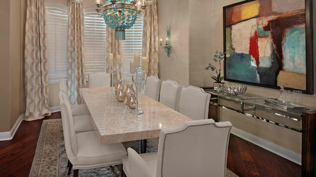 stunning granite top dining room tables  home design lover,