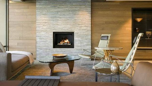old brick fireplaces. A Twist of Old Brick Fireplaces in 15 Modern and Contemporary